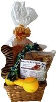 Order a dog gift basket of