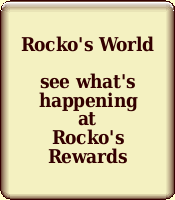 Check out Rocko's World with  news about what we're doing,  pictures from our dog events, Rocko's youtube channel and Rocko's Blog - the life of a senior dog